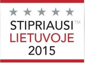Stipriausi Lietuvoje 2015 RNV